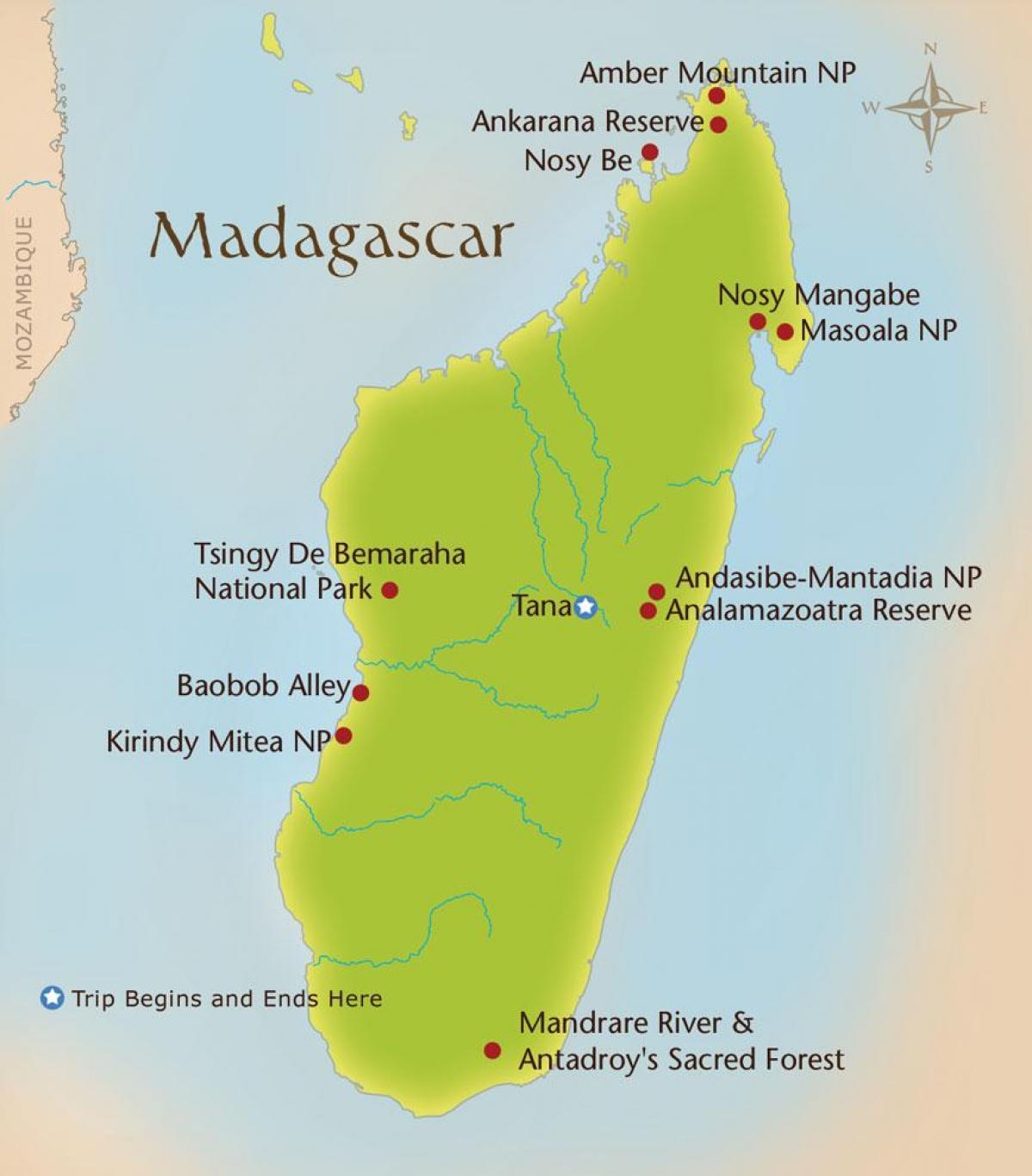 kart over madagaskar Madagaskar fjell kart   Kart over Madagaskar fjell (Øst Afrika  kart over madagaskar